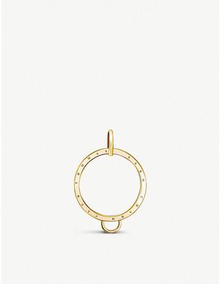 Thomas Sabo Charm Club 18ct gold-plated circle charm carrier