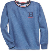 Tommy Hilfiger Space-Dyed Graphic Sweater, Big Boys (8-20)