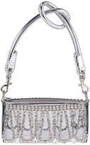 Area Roll Bag in Silver & Clear | FWRD
