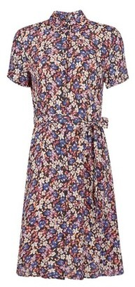 Dorothy Perkins Womens **Vero Moda Multi Colour Floral Print Shirt Dress, Multi Colour