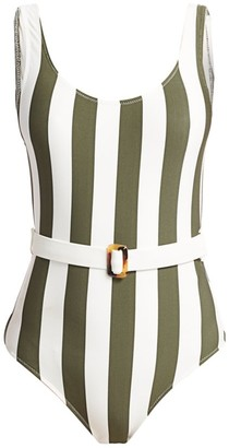 Solid And Striped The Anne-Marie Belted Swimsuit