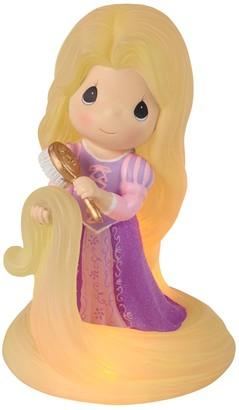 Precious Moments Disney Tangled Rapunzel Light-Up Musical Figurine Table Decor