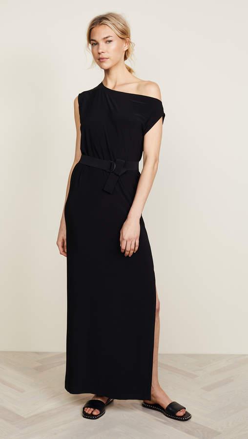 Norma Kamali Drop Shoulder Gown