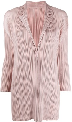 Pleats Please Issey Miyake Pleated Blazer