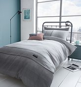 Catherine Lansfield Home Editions Denim Duvet Cover Set, Grey, Single