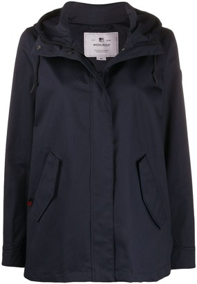 Woolrich Hooded Zip Coat