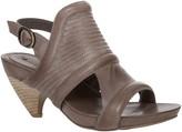 Max Studio Mesa Leather Scooped Heel Sandals