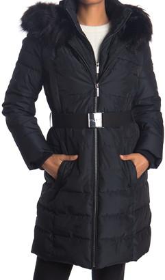 DKNY Iridescent Puffer