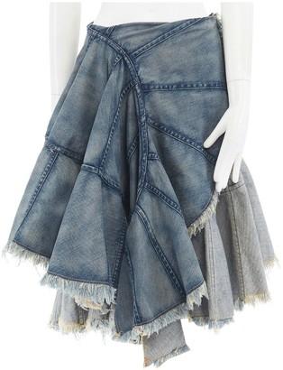 Junya Watanabe Blue Denim - Jeans Skirt for Women Vintage