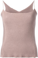 Theatre Products knitted cami top - women - Cotton/Polyester - One Size