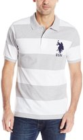 U.S. Polo Assn. Men's Polo with Wide Stripes