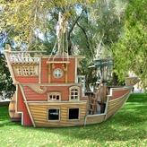 Red Beard's Revenge Pirate Ship Playhouse