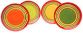 JCPenney Certified International Hot Tamales Set of 4 Dinner Plates