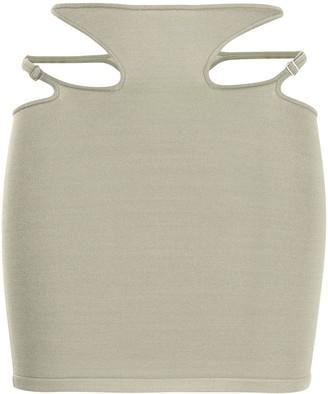 Dion Lee Hosiery Teardrop skirt