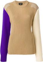 Calvin Klein colour block jumper