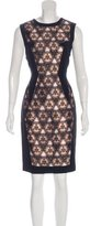 Prabal Gurung Paneled Sheath Dress