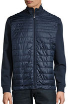 BOSS GREEN Pizzoli Quilted Knit Jacket