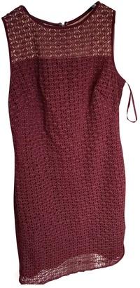 Lauren Ralph Lauren \N Burgundy Lace Dress for Women
