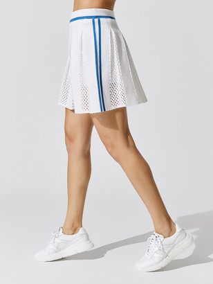 Carbon38 Mesh Detail Tennis Skirt