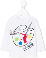Stella McCartney paint palette printed top - kids - Cotton - 6 mth