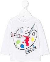 Stella McCartney paint palette printed top