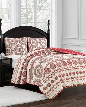 Marquis by Waterford Cyprus 3Pc Quilt Set