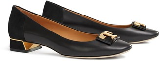 Tory Burch Gigi Rounded-Toe Flat