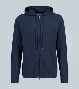 Derek Rose Cashmere hooded sweatshirt