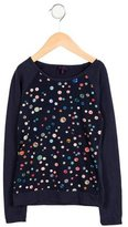 Paul Smith Girls' Button Print Top