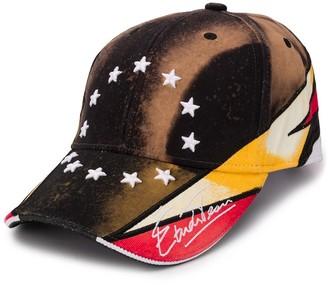 Études Stars Embroidered Panelled Cap