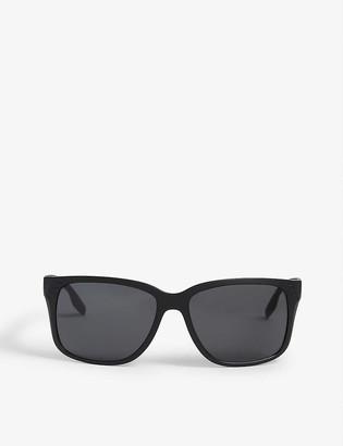 Prada Linea Rossa Rectangle nylon sunglasses