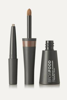 LashFood Browfood Aqua Brow Powder Pencil Duo - Dark Blonde