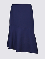 Limited Edition Bias Cut Asymmetrical Midi Skirt