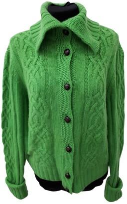 White + Warren Green Cashmere Knitwear for Women