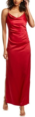 Laundry By Shelli Segal Jewel Strap Gown