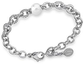 Majorica Faux-Pearl Link Bracelet