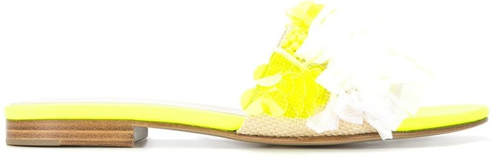 DELPOZO embellished sandals