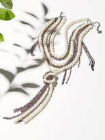 Free People Pearl x Chain Knot Necklace