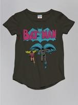 Junk Food Clothing Kids Girls Batman Tee-bkwa-m