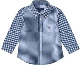 Gant Navy Classic Gingham Oxford Shirt