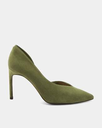 Ted Baker Suede Court Shoe