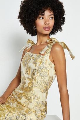 Coast Strappy Fringe Tassel Hem Midi Dress