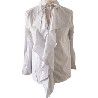 Schumacher Dorothee White Cotton Top for Women