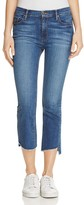 Black Orchid Cindy Slant Fray Jeans in Bonanza