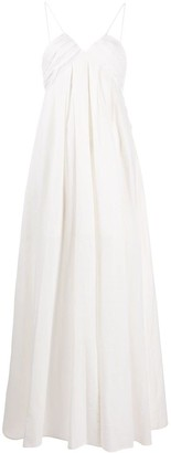 Masscob Travosa flared maxi dress