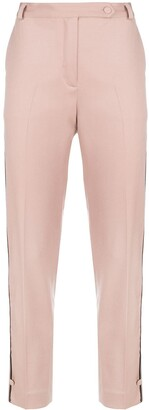 Styland Cropped Straight Leg Trousers