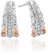 Clogau Gold Clogau Women 925 Sterling Silver Diamond Stud Earrings 3SABE03