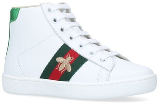Gucci Kids New Ace High-Top Sneakers