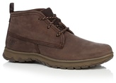 Caterpillar Dark Brown 'cue' Chukka Boots