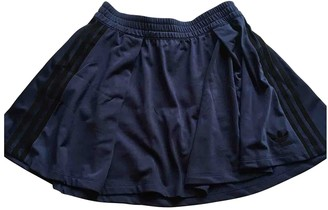 adidas Blue Synthetic Skirts
